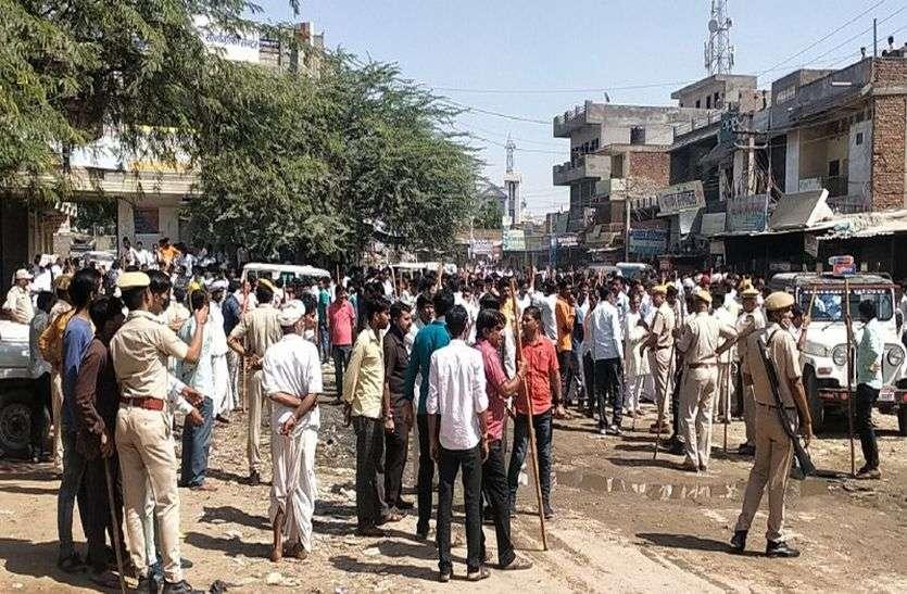 जालोर: गरबा में छेड़छाड़ के बाद बिगड़ा माहौल, व्यापारी से मारपीट के बाद पत्थरबाजी, रानीवाड़ा छावनी में तब्दील