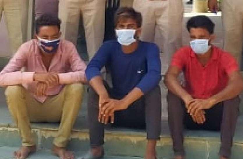 परचूनी की दुकान से चोरी का पर्दाफाश, आठ दिन में पुलिस ने किया खुलासा