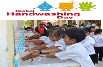 Global Handwashing Day : साबुन से हाथ धोएं और धुलाएं, बीमारियों से दूरी बनाएं
