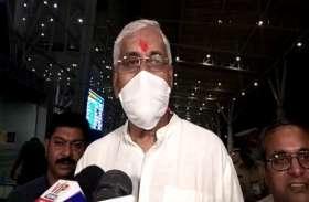 मुख्यमंत्री भूपेश बघेल के आने से पहले स्वास्थ्य मंत्री TS सिंहदेव दिल्ली रवाना