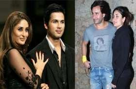 क्या होगा अगर करीना कपूर एक्स बॉयफ्रेंड शाहिद कपूर और पति सैफ अली खान के लिफ्ट में फंस जाएंगी?
