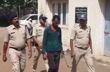 किरायादार बनकर इंदौर पहुंची पुलिस, की रैकी और फिर ट्रिपल मर्डर केस के कैदी को दबोचा