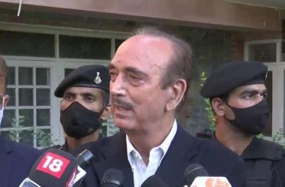 Jammu Kashmir: कांग्रेस नेता गुलाम नबी आजाद बोले- आतंकियों ने बदली रणनीति, इन्हें पकड़कर समझना होगा तरीका