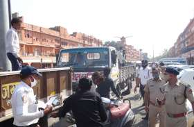चारदीवारी में सुगम यातायात के लिए शुरू हुआ अभियान