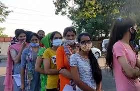 Patwari Exam 2021: पटवार भर्ती परीक्षा शुरू, कड़ी सुरक्षा व्यवस्था के बीच हो रही है परीक्षा