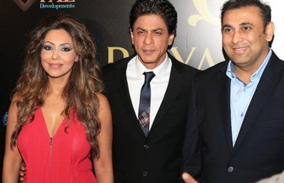 शाहरूख खान ने लॉन्च किया दुबई में रियल एस्टेट प्रोजेक्ट