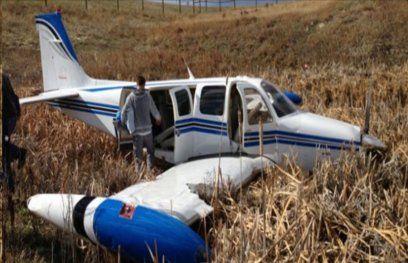 मेक्सिको में विमान दुर्घटनाग्रस्त, 5 की मौत