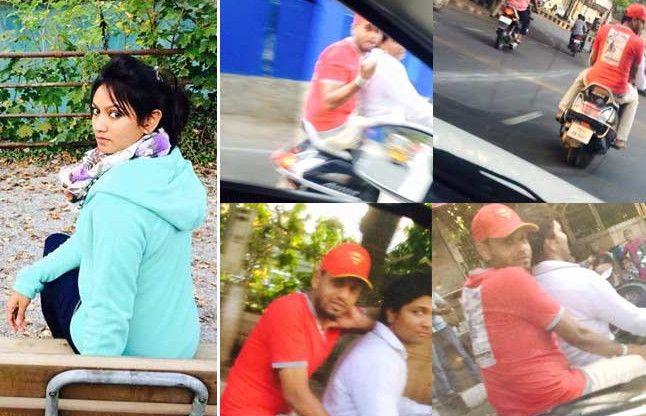 Telugu actress Ashmita Kharnani posts of eve-teasers on