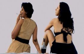 एक्ट्रेस की किसिंग सीन करते न्यूड फोटो, वीडियो लीक