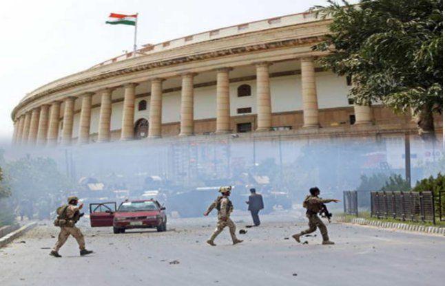 Image result for संसद हमला