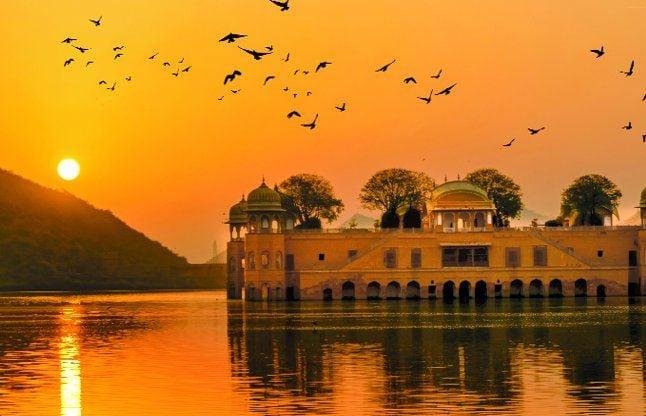 Jal Mahal Declared Protected Area - जलमहल का क्षेत्र संरक्षित घोषित |  Patrika News