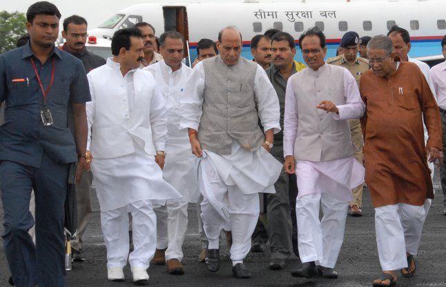 देश की सारी सीमाओं पर अलर्टःगृहमंत्री राजनाथ सिंह