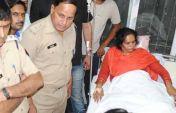 साध्वी प्राची का आरोप, आजम खान के दबाव में पुलिस ने पीटा