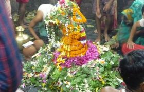 देवघर में वैद्यनाथ मंदिर के फूल-बिल्वपत्रों से बनेंगे पार्टिकल बोर्ड