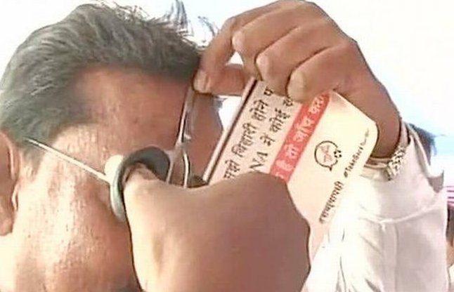DNA विवाद: JDU कार्यकर्ताओं ने दिए सैंपल, BJP ने नीतीश को घेरा