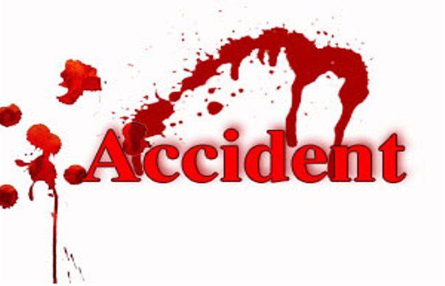 सड़क हादसे में एक की मौत, तीन घायल