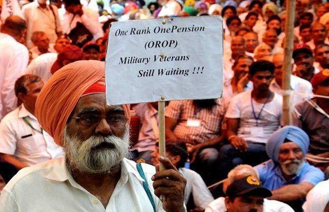 OROP का मसला सुलझा, कुछ सरकार झुकी, कुछ पूर्व सैनिक!