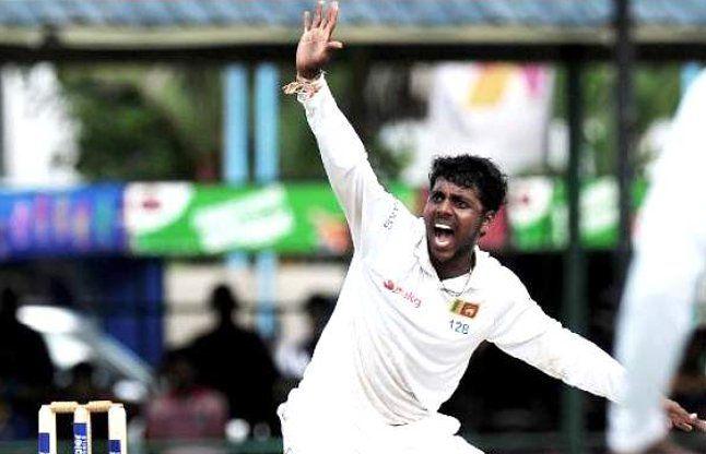 भारत के 13 विकेट चटकाने वाला श्रीलंकाई स्पिनर संदेह के घेरे में