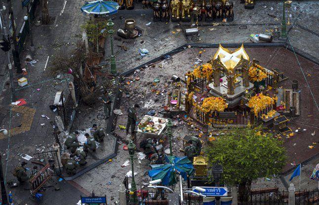 थाईलैंड बम धमाका: हिरासत में लिए गए दो भारतीय