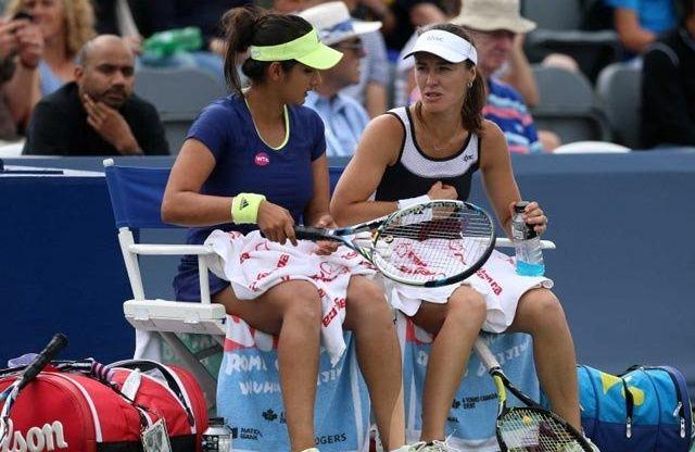 यूएस ओपेन: फाइनल में पहुंची सानिया मिर्जा और मार्टिना हिंगिस