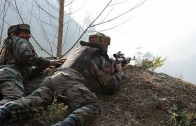 जम्मू कश्मीर में मुठभेड़, सेना ने एक आतंकवादी को किया ढेर