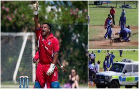 क्रिकेट मैदान पर चले लात-घूंसे, बचाने आए खिलाड़ी का सिर फोड़ा