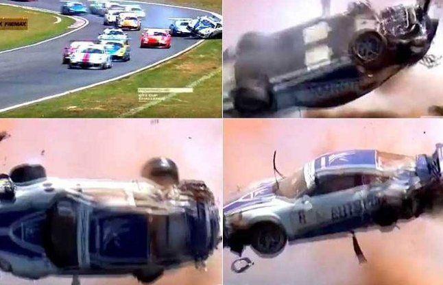 9 बार से भी ज्यादा पलटी कार, फिर भी दे दी मौत को मात, देखें वीडियो
