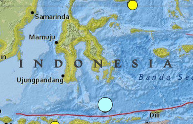 इंडोनेशिया में महसूस किए भूकंप के तेज झटके, 62 लोग घायल