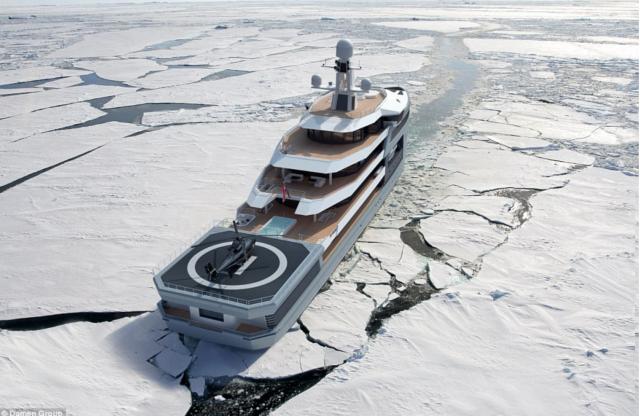 पानी आैर बर्फ पर चलेगा ये जहाज, दुनिया के आखिरी कोने तक जाएगा