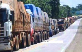 टोल-टैक्स का विरोध, ट्रकों की हड़ताल शुरू