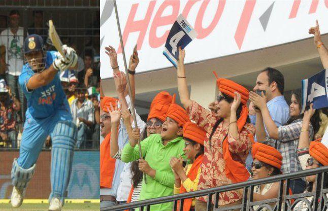 तस्वीरों में देखिए IND vs SA क्रिकेट मैच का लाइव रोमांच