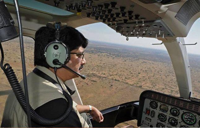 घुड़सवारी ही नहीं हवाई जहाज का भी शौक रखते हैं राजा भइया