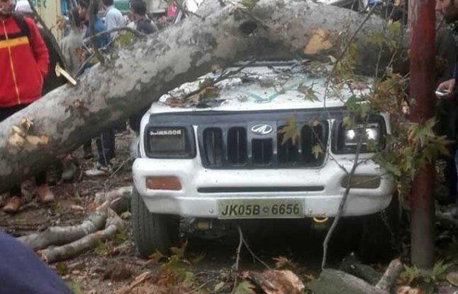 भूकंप के बाद श्रीनगर में बंद हुई फोन लाइंस, दिल्ली मेट्रो भी  रोकी