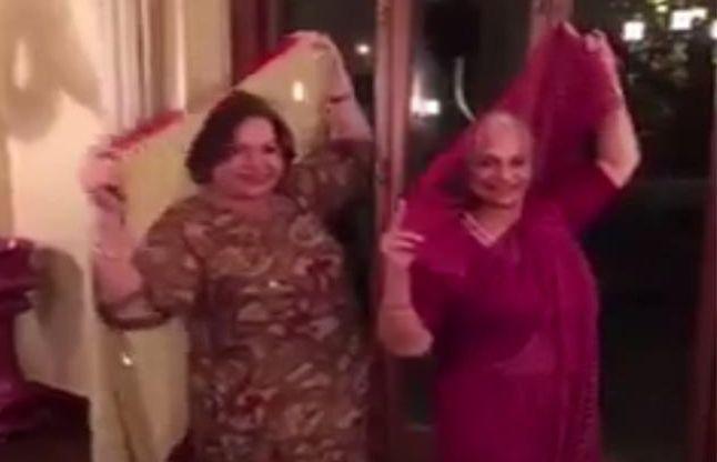 """""""प्रेम रतन धन पायो"""" के टाइटल ट्रैक पर सलमान की मां ने लगाए ठुमके"""