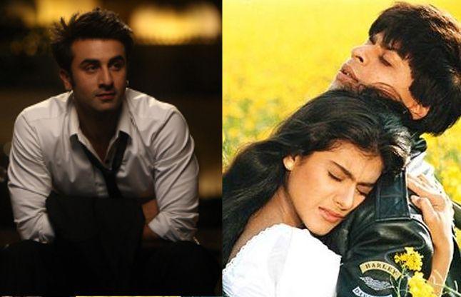 शाहरुख की फिल्म DDLJ के रीमेक में काम करना चाहते हैं रणबीर