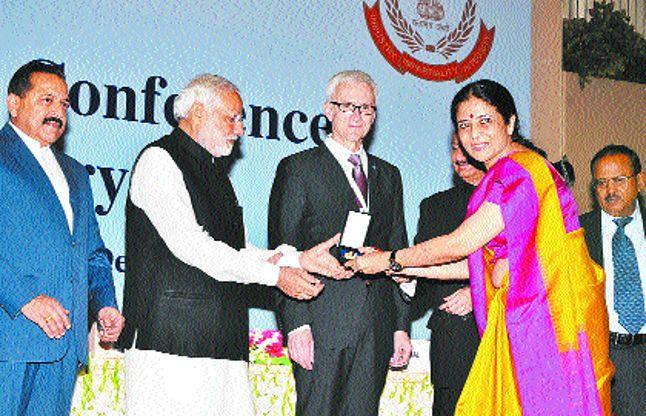 आईपीएस नीना सिंह को राष्ट्रपति पुलिस पदक