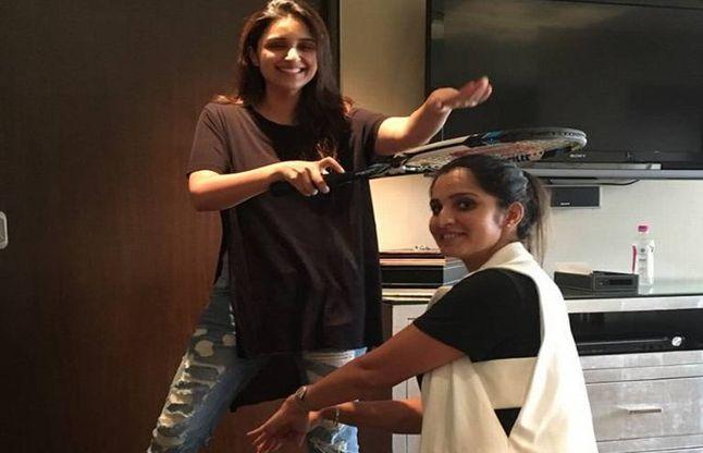 अगले मैच में जीतने के लिए परिणीति ने दिया सानिया को आशीर्वाद