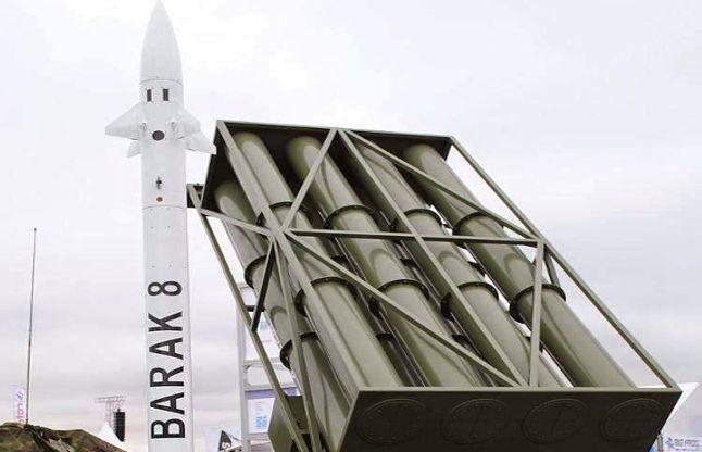 भारत-इजरायल ने किया मिसाइल 'बराक-8' का सफल परीक्षण
