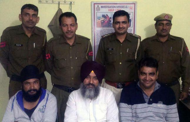 पंजाब में गुरू ग्रंथ बेअदबी मामले का मुख्य आरोपी जींद में गिरफ्तार