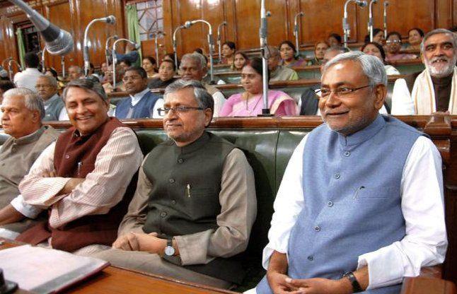 बिहार विधानसभाः नोटबंदी और कानून व्यवस्था पर हुआ हंगामा