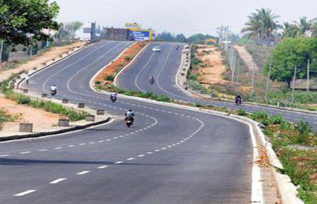 for iit six lane road will be build till kutelabhata - Durg