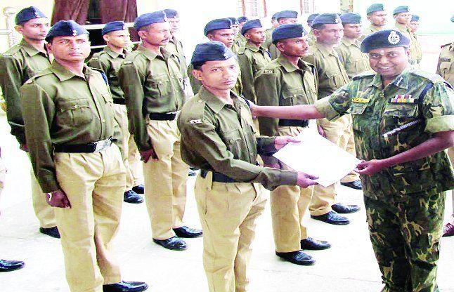 नागलगुडा मुठभेड़ में शामिल 22 नगर सैनिक बने आरक्षक