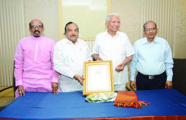 एन. सुगालचन्द जैन को डी. लिट की उपाधि