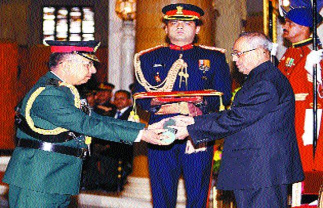 नेपाली सेनाध्यक्ष को जनरल की मानद रैंक