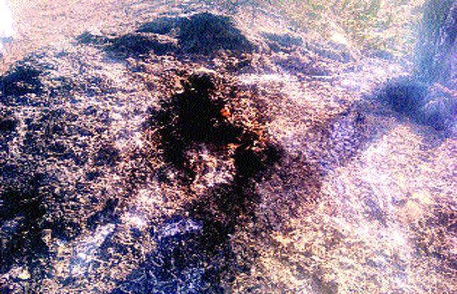 झोंपड़ी के साथ जल गया मासूम