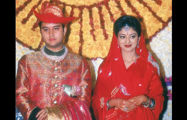 Image result for ज्योतिरादित्य सिंधिया की पत्नी प्रियदर्शनी राजे सिंधिया