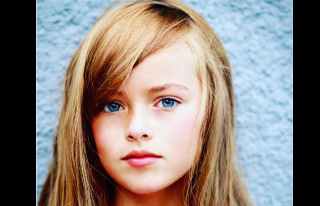 10 year old supermodel Christina Pimenov is the mo