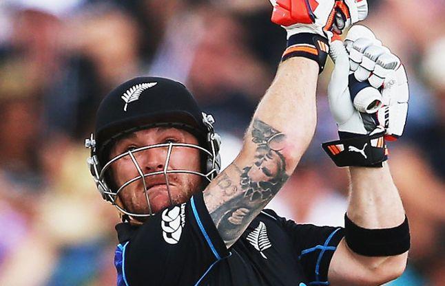 मैकुलम की ताबड़तोड़ बल्लेबाजी, ODI का 200वां छक्का जड़ लिया संन्यास