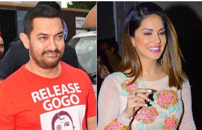 सनी लियोनी से आमिर मिले, एक साथ किया लंच