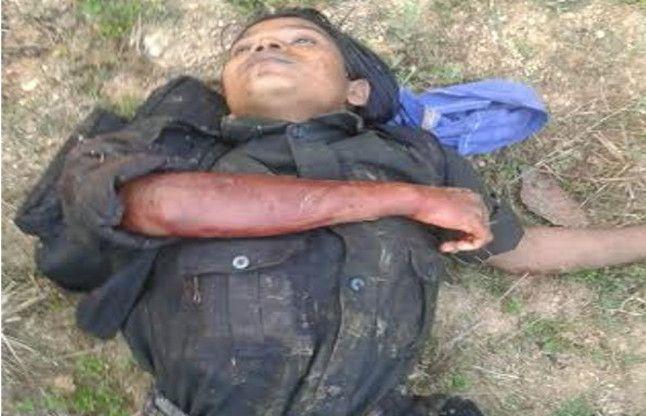 झारखंड: पुलिस-नक्सलियों की मुठभेड़ में 4 नक्सली ढेर, 2 जवान घायल